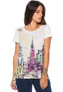 089706e86 Camiseta Ana Hickmann Laranja feminina | Shoes4you
