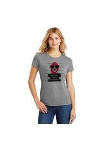 Camiseta Feminina T-Shirt Pets Bad Girl