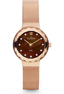 Relógio Analógico Skagen Feminino - 456Srr1/4Mn Rosê