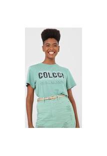Camiseta Colcci Original Verde
