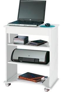 Mesa Para Notebook Com Tampo Portátil Branco