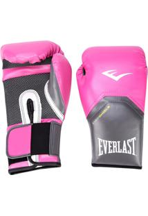 Luva De Boxe/Muay Thai Everlast Pro Style 14 Oz - Unissex