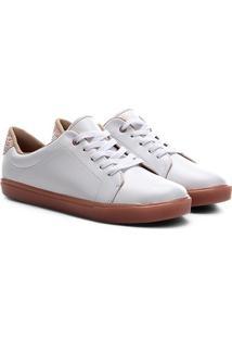 Sapato Infantil Molekinha Napa Turim Gliter Glamour - Feminino-Branco