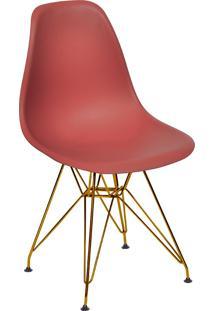 Cadeira Com Base Em Cobre 1102-Or Design - Telha