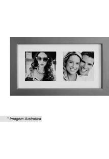 Painel Multifotos Insta- Prateado & Branco- 15X28X1,Kapos