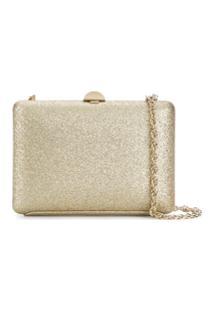 Rodo Sequin Clutch Bag - Dourado