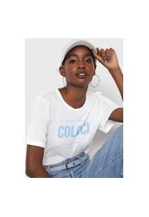 Camiseta Colcci Delete My Number Branca