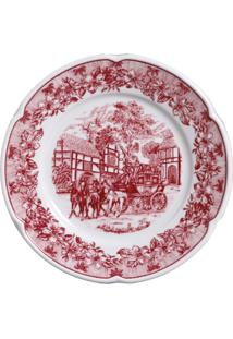 Aparelho De Jantar De Porcelana 30 Peças Provenza Gales