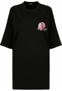 Undercover Camiseta Com Estampa De Lua - Preto