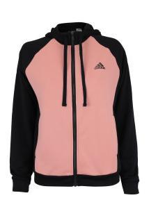 e1801d1e80 Agasalho Com Capuz Adidas Wts - Feminino - Preto/Rosa