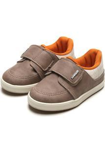 Sapato Pimpolho Menino Liso Marrom
