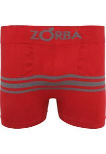 689d0ec4a Cueca Zorba Boxer Seamless Listras Vermelha