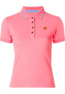 Save The Duck Camisa Polo  Pico  - Pink   Purple dd24a9ca41c62