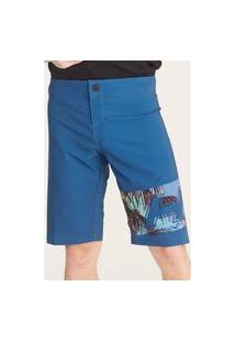 Boardshort Hd Insta Effect Azul Marinho