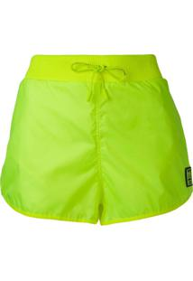 Off-White Short Esportivo - Amarelo