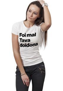 Camiseta Hunter Doidona Branca