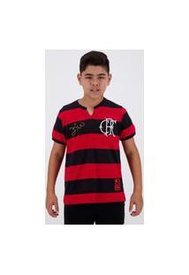 Camisa Flamengo Flatri Zico Infantil