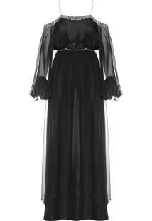 Vestido Beta - Preto