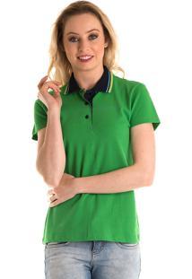 51fba43cc9 Camisa Polo Konciny Verde Limão