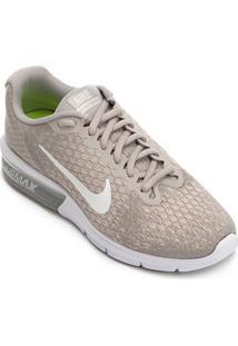 e3be073a27 Tênis Nike Air Max Sequent 2 Feminino - Feminino-Cinza ir para a loja