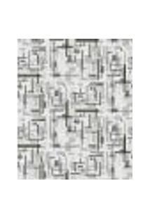 Papel De Parede Adesivo Decoração 53X10Cm Lilas -W22550