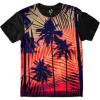 Camiseta Long Beach Hawaii Tribal Sublimada Masculina -  Masculino-Vermelho+Preto b7a41c26221