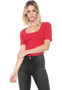 Camiseta Forum Canelada Vermelha