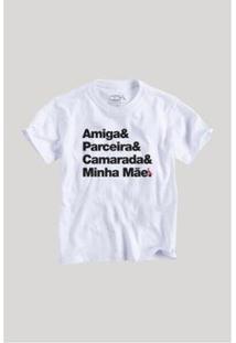 Camiseta Infantil Mãe Camarada Reserva Mini Masculina - Masculino