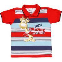 f1cdee348b Home Roupas Meninos Camisa Polo Gola Esporte