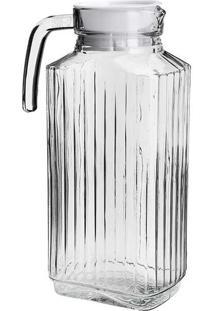 Garrafa De Vidro 1800Ml - Bon Gourmet - Transparente