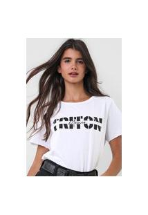 Camiseta Triton México Branca