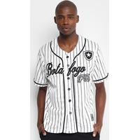 Camisa Botafogo Baseball Masculina - Masculino ff226c3fbec5b