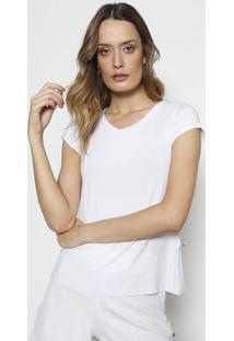 Camiseta Lisa- Branca- Blessbless