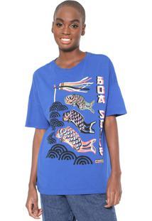 Camiseta Cantão Boa Sorte Azul