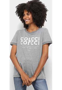 Camiseta Colcci Logo Feminina - Feminino