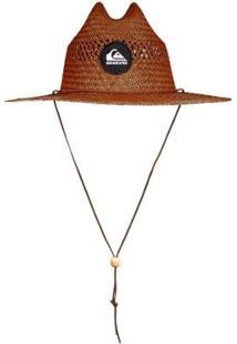 Chapéu De Palha Quiksilver Pierside Slimbot - Masculino