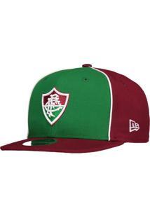 Boné New Era Fluminense 950 Bordô E Verde 77926517d7b