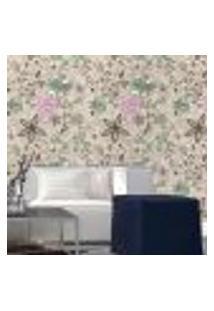 Papel De Parede Autocolante Rolo 0,58 X 5M - Floral 210120