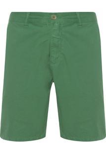 Bermuda Masculina Alfaiataria - Verde
