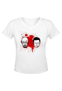 Camiseta Nerderia Heisemberg Friend Branco