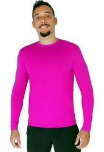 Blusa Proteção Solar Roupas Térmicas Uv 50+ Masculina - Masculino