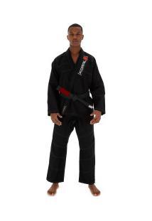 Kimono Jiu-Jitsu Koral One - Adulto - Preto