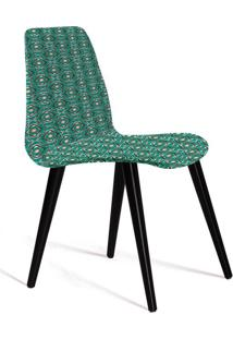 Cadeira De Jantar Eames Palito Verde E Cinza