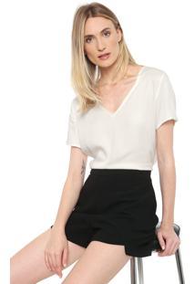 Camiseta Forum Básica Off-White