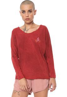 Camiseta Volcom 1991 Vermelha