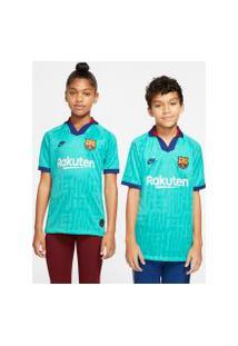 Camisa Nike Barcelona Iii 2019/20 Torcedor Pro Infantil