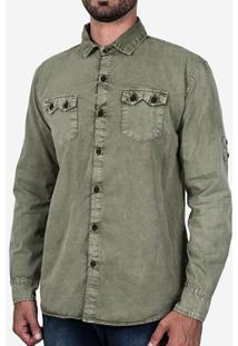 Camisa Militar Stone 200157