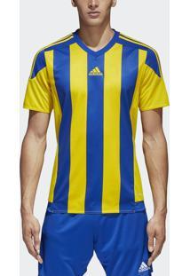 Camisa Adidas Striped 15 Jsy Amarelo