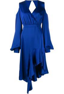 Three Floor Vestido Eclectic - Azul