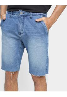 Bermuda Jeans John John Classica Chuy Masculina - Masculino-Azul